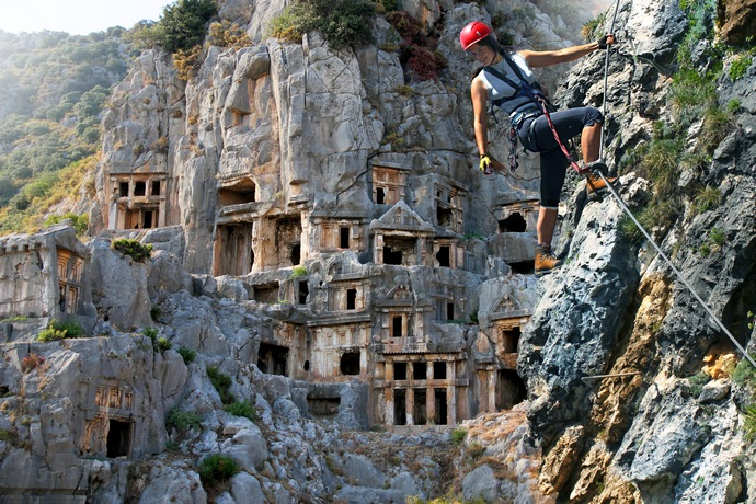 Home of Lycian Tombs