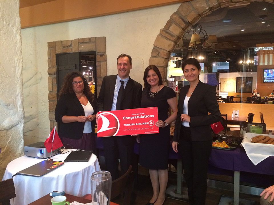 The office of culture tourism held a mice breakfast workshop - Turkish culture and tourism office ...
